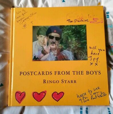 The Beatles Ringo's Postcards From The Boys Book • 14.99£