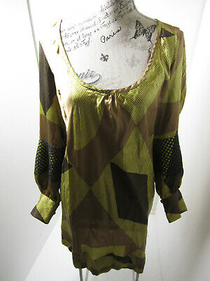 AU40 • Buy ALICE McCALL, STUNNING SILK SHIFT DRESS WITH DETAIL  SIZE 12-14