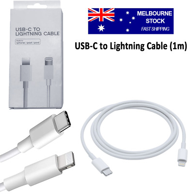 AU8.97 • Buy USB-C To Lightning Cable 1M For IPhone IPad IPod Type C Charging Data Charger