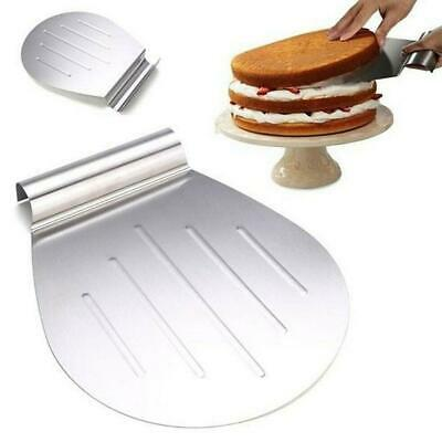 Steel Shell Shape Cake Bread Pizza Cookies Lifter Transfer Tray Tools • 5.49£