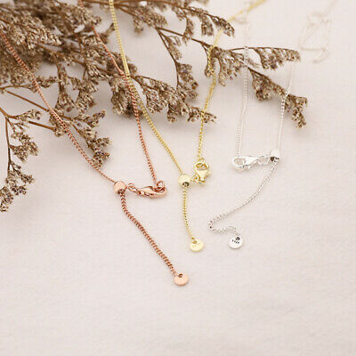 CURB Necklace Authentic PANDORA Rose CHAIN GOLD Plated  • 16.29£