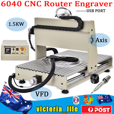 AU1213 • Buy 3Axis Router Engraver CNC 6040 Engraving Drilling Machine USB Port Water-cooling
