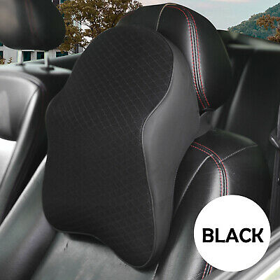 AU19.99 • Buy Car Seat Headrest Pad Memory Foam Pillow Head Neck Rest Travel Support Cushion