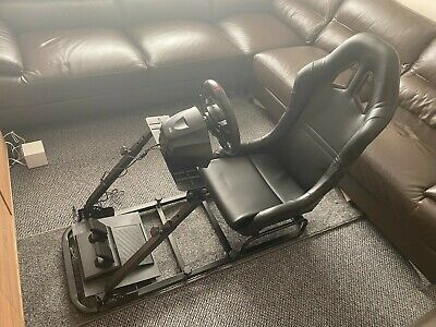 Simulator Chair Racing Seat Driving Game Xbox Playstation PC F1 VR Gaming Wheel • 194£