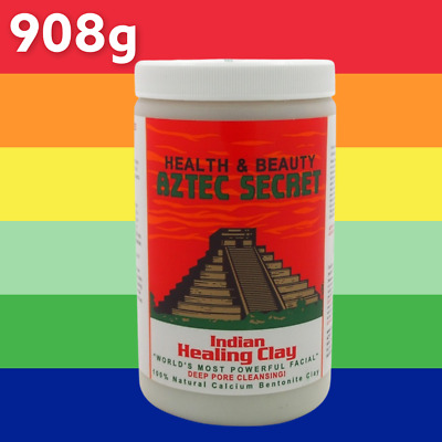 AU39.95 • Buy Aztec Secret Indian Healing Clay 908 Grams THE WORLD'S MOST POWERFUL FACIAL!!