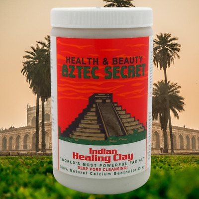 AU39.95 • Buy Aztec Secret Indian Healing Clay 908 Grams THE WORLD'S MOST POWERFUL DYI FACIAL