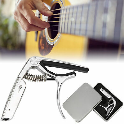 $ CDN39.96 • Buy Guitar Capo Tuner With Rechargeable Battery For Acoustic Electric Guitar Ukulele