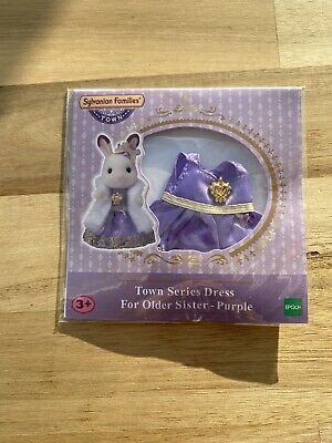 Sylvanian Families Town Series Dress For Older Sister - Purple • 4.99£