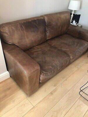 Halo Leather Sofa • 400£