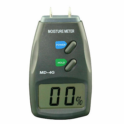 4-Pin Digital Moisture Meter Pro Damp Detector Timber Wood Tester Plaster Sensor • 17.69£