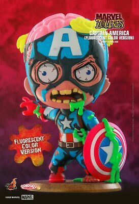 $ CDN47.31 • Buy Hot Toys Marvel Zombies Captain America Cosbaby Fluorescent Color Version