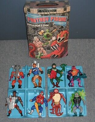 $800 • Buy 1980s Master Of The Universe Vintage Lot Of 8 Figures With/Case & Accessories