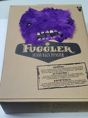 $ CDN41.99 • Buy Spin Master FUGGLER Funny Ugly Monster Plush Purple Bat Count Fuggula Brand New