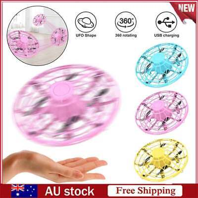 AU26.96 • Buy Drones 360° Rotating Smart UFO Drone For Kids Flying Hand-Control Toys AL AL