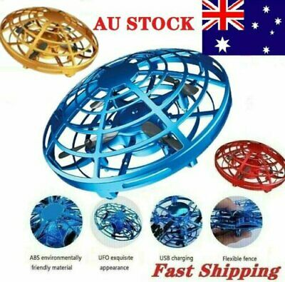 AU18.59 • Buy 360°Mini Drone Smart UFO Aircraft For Kids Flying Toy RC Hand Control Xmas Gift~