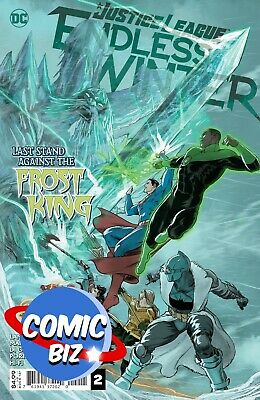 Justice League Endless Winter #2 (2021) 1st Printing Main Cover Dc Comics • 4.25£