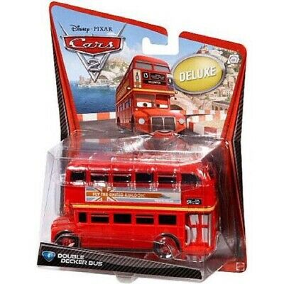 $ CDN51.02 • Buy Disney Pixar Cars 2 Deluxe Double Decker Bus Topper Deckington III