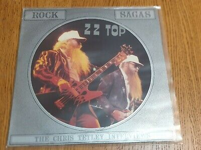 £20 • Buy ZZ TOP Interview Picture Disc 1987 - UK LIMITED EDITION