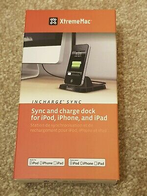XtremeMac Sync And Charge Dock For IPod, IPhone And IPad - New In Box • 6.99£