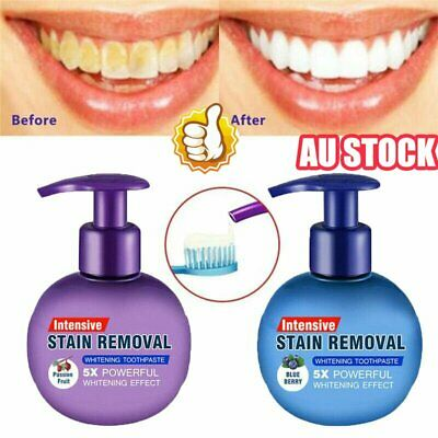 AU13.29 • Buy Instant Clean Intensive Stain Removal Whitening Toothpaste Fight Bleeding Gums ~