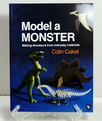 £12.64 • Buy Model A Monster By Colin Caket 1986 Making Dinosaurs From Everyday Materials