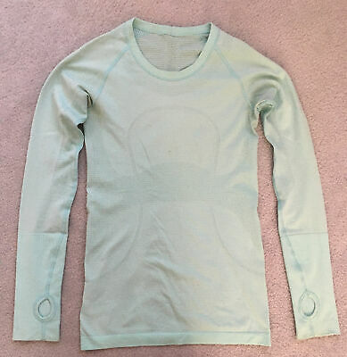 $ CDN40.23 • Buy LULULEMON Women's Long Sleeve Swiftly Tech Top - Size 4 US / 8 AUS