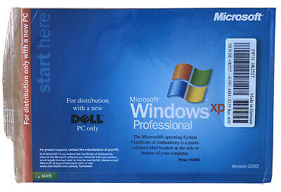 Windows XP Professional; SP1a  Just CD,  And A Booklet , No Key , DELL • 10£