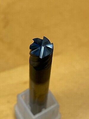 Solid Carbide End Mill 6 Flute With End Cut TiAlN Coated.  • 9.25£