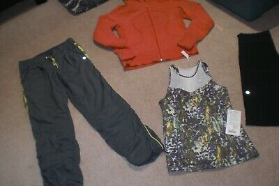 $ CDN96.60 • Buy Lot Of Lululemon Lined Pants, Shorts,  Hoodie, BNWT Running In City Tank Sz 6