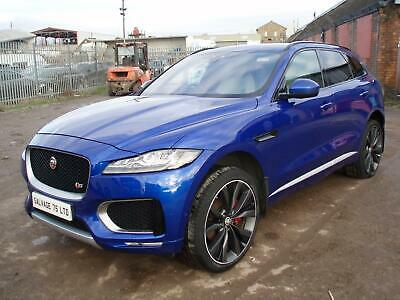 2016 Jaguar F-Pace 3.0d V6 1st Edition 5dr Auto AWD DAMAGED SALVAGE REPAIRABLE ( • 19,995£