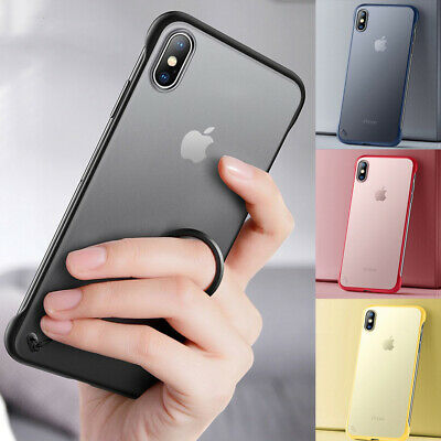 Case For IPhone XR 11 Pro SE 2020 7 8 Plus XS Max X SHOCKPROOF Cover Hard Back • 2.75£