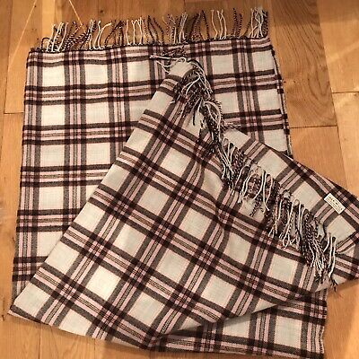 Jack Wills Striped Blanket/throw - 54x54 In Inches - Unused - RRP £35 • 14£