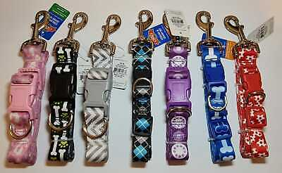 £3.99 • Buy Dog Collar And Lead Set Puppy Set Adjustable Collar 7 Colours