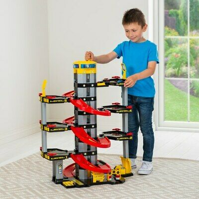 Car Toy Parking 7 Storey Garage Cars Play Set Playset Kids Fun Gift Mega Large • 51.99£