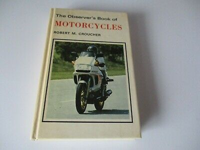 The Observer's Book Of Motorcycles - 1982 • 4.25£