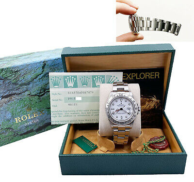 $ CDN11438.94 • Buy Rolex Explorer II 16570 White Dial Stainless Steel Box Papers 2004