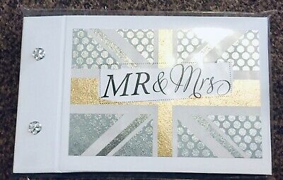 "Pocket Photo Album ""Mr & Mrs"" Wedding / Anniversary Lovely Special Ideal Gift • 7.50£"