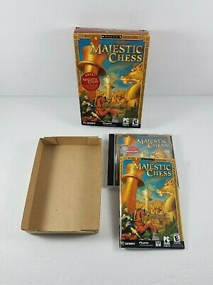 $24.99 • Buy Hoyle Majestic Chess (PC, 2003) Teaching Software The Queens GambitComplete