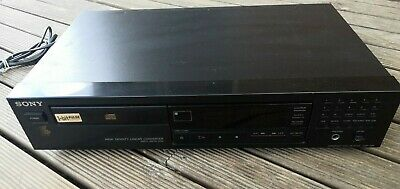 AU129 • Buy Vintage SONY CD Player CDP-295 Compact Disc - Made In Japan (Working)