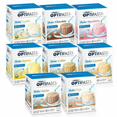 £25.54 • Buy Optifast VLCD Shakes 12 X 53g Sachets Low Calorie Diet For Weight Loss Shake+
