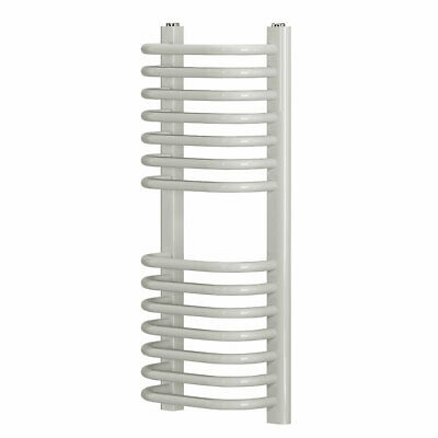 Cap22gc036 Curved D-bar Towel Radiator Water 700 White Central Heating Systems • 42.89£