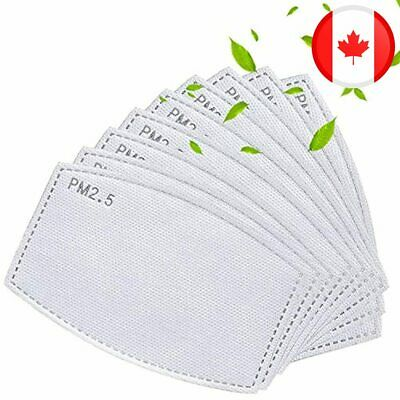 $ CDN42.97 • Buy 100PCS Adult Activated Carbon PM2.5 Replacement Filter Insert 5 Layers Anti Haze