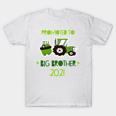 I'm Going To Be A Big Brother T-Shirt Kids Children Boys White Announcement Gift • 6.99£