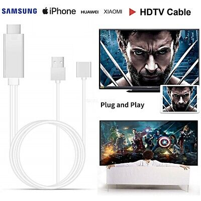 AU27.81 • Buy Cable Mhl Full HD 1080P Micro USB HDMI HDTV TV For Samsung IPHONE Huawei Xiaomi