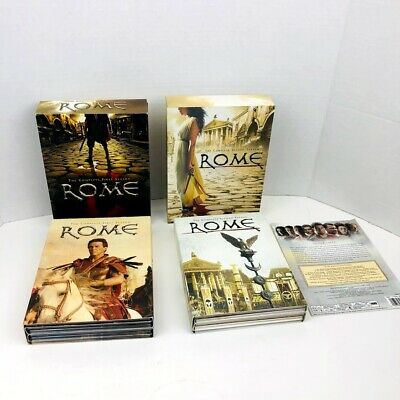 Rome The Complete 1 2 Season DVD 6-Disc Set Lot Of 2 • 10.75£