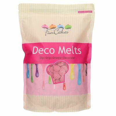 Candy Deco Melts Buttons Cake Pop - Pink 1Kg • 16.99£