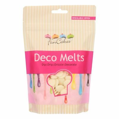 Candy Deco Melts Buttons Cake Pop - White 250g • 6.99£