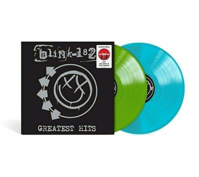 BLINK-182: Greatest Hits Exclusive Limited Aqua Blue Green Colored Vinyl 2LP NEW • 28.91£