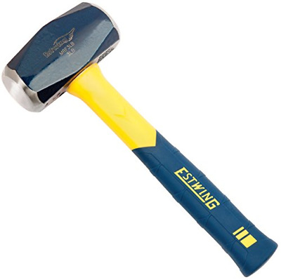 View Details Estwing Sure Strike Drilling/Crack Hammer - 3-Pound Sledge With Fiberglass & - • 20.71$