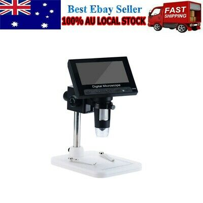 AU57.69 • Buy Portable 4.3  1000X HD LCD Monitor Electronic Digital Microscope LED Magnifier